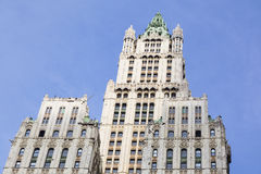 Woolworth Building in New York Royalty Free Stock Images