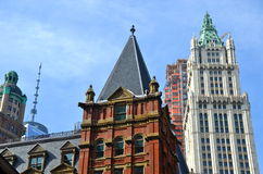 Woolworth Building, NYC Stock Photos