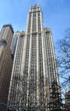 Woolworth Building, NYC. Historic Woolworth Building, New York City, USA Royalty Free Stock Photo