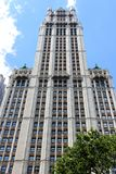 Woolworth Building, NYC Royalty Free Stock Photo
