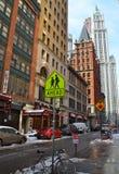 Woolworth byggnad, NYC Arkivfoto