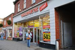 Woolworths store, Tenterden Royalty Free Stock Photos