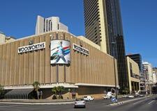 Woolworths wydziałowy sklep, Kapsztad, Południowa Afryka Obraz Stock