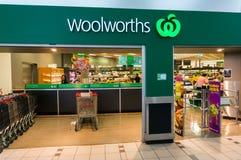 Woolworthssupermarkt in Doosheuvel, Melbourne Stock Foto