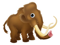 Wooly Mammoth Cartoon Stock Photos