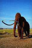 Wooly Mammoth. A wooly mammoth at the Horicon Marsh in Horicon, Wisconsin Stock Image