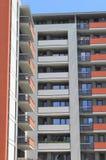 Woon complexe flats royalty-vrije stock afbeelding