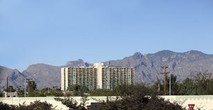 Woon Hoge Stijging, Tucson de stad in, AZ stock afbeelding
