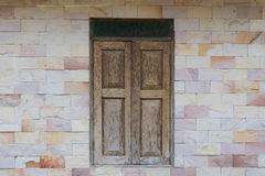 Woonden-Fenster Lizenzfreies Stockfoto