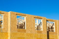 Woonflat, flatbouw stock foto