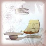 Woonkamer Stock Afbeeldingen