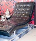 Woonkamer, binnenland, meubilair Royalty-vrije Stock Foto's