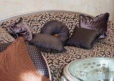 Woonkamer, binnenland, meubilair Royalty-vrije Stock Fotografie