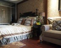 Woonkamer, het Open Bed van Houseï ¼ Stock Afbeelding