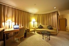 Woonkamer van hotel Stock Foto's