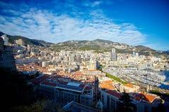 Woonkwarten, Monaco, Frankrijk stock afbeeldingen