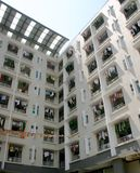 Woonplaats in China stock foto's