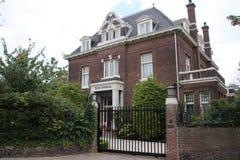 Woonplaats van de ambassadeur van Zuiden Africain de stad van Den Haag stock foto