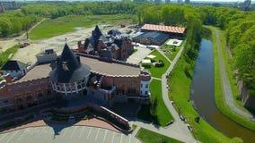 Woonplaats van de Koningen, Kaliningrad stock video