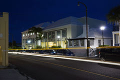 Woonplaatsen en Bureaus op Pitts-Baaiweg - Pembrook, de Bermudas Royalty-vrije Stock Foto's