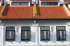 Woonwijk Royalty-vrije Stock Fotografie