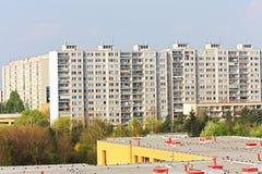 Woonwijk Stock Foto