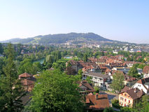 Woonwijk in Bern Royalty-vrije Stock Foto