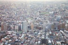 Woonwijk van Tokyo Japan Royalty-vrije Stock Foto