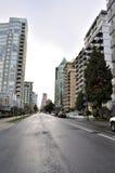 Woonwijk van Vancouver Van de binnenstad Stock Fotografie
