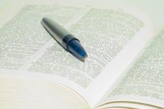 Woordenboek Royalty-vrije Stock Foto