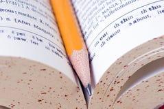 Woordenboek Royalty-vrije Stock Afbeelding