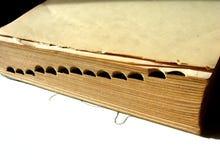 Woordenboek Stock Afbeelding