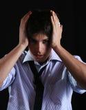 Woorried Man Stock Photos
