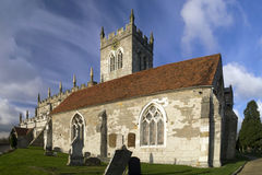 Wootten wawen church Stock Image