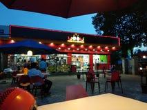 Woow jedzenie, fastfoods w Purnia zdjęcie royalty free