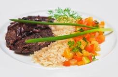 wołowina piec na grillu Zdjęcie Stock