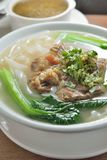 Wołowina ryżowy kluski Fotografia Stock