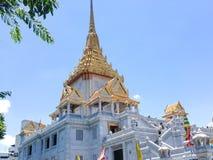 worawihan tempel för traimitwittayaram Royaltyfri Bild