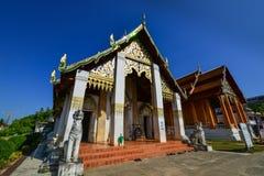 Worawihan Wat phrathatchangkham Arkivfoto