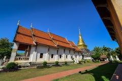 Worawihan Wat phrathatchangkham Fotografering för Bildbyråer