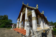 Worawihan Wat phrathatchangkham Arkivbild