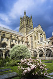 Worcester. The Cathedral Church of Christ and the Blessed Mary the Virgin of Worcester royalty free stock image