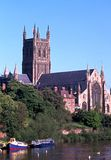 Worcester Cathedral. Stock Image