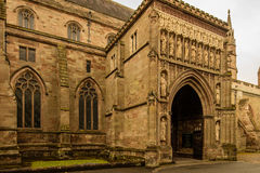 Worcester Cathedral North Gate Royalty Free Stock Image