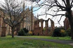 Worcester-Kathedrale stockbild
