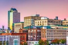 Worcester, Massachusetts, USA Skyline. Worcester, Massachusetts, USA downtown city skyline stock photo