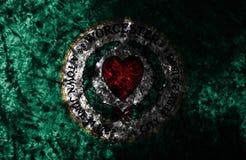 Worcester miasta grunge stara flaga, tło, Massachusetts stan, Stany Zjednoczone zdjęcia royalty free