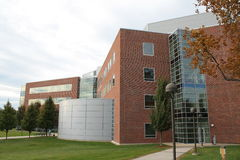 Worcester State College science technology center Royalty Free Stock Image