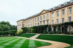 Worcester szkoła wyższa w Oxford obrazy royalty free