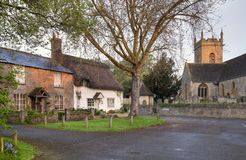Worcestershire village. The pretty Worcestershire village of Bretforton, England Royalty Free Stock Photography